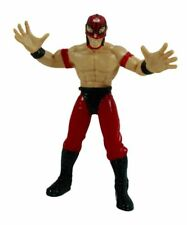 WCW Smash 'N Slam Rey Mysterio 6 Inch Action Figure 1999 Toy Biz (C-8)