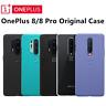 Original Official OnePlus 8 Pro 8 Sandstone Bumper Karbon Nylon Case Back Cover