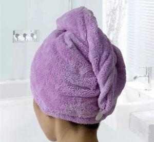 Hair dryer Towel Care Microfiber Super Absorbent Quick-drying Bath Towel Hair