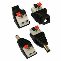 5/10/20Pcs DC Power Supply Adapter Jack Male Female Connector Plug 5.5x2.1mm