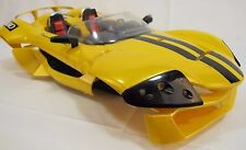 RC Body Nikko Mach lll Exotic Sports car in Yellow and hard plastic