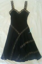 ALAIA $3.8K Black Lace Party Holiday Cocktail Work Dress 38/XS RUNWAY RARE NEW!!