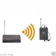 Pro Upgrade In Ear Stage Wireless Monitor System UHF 3 Channel Adjustable