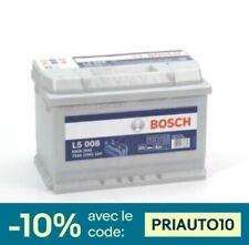 Bosch L5008 Batterie décharge lente 12V, 75 Ah, 650A - Loisirs, Camping-Cars,...
