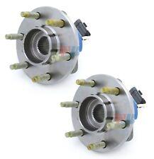 Pair Set of 2 Rear WJB Wheel Bearing and Hub Assies Kit for Cadillac SRX CTS STS
