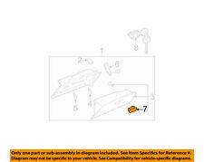 TOYOTA OEM-Glove Compartment Box Lock 5550633030C0