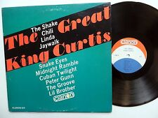 KING CURTIS The Impact LP Soul Instr. 1964 Clarion MONO