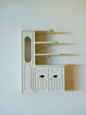 Miniature wooden Cupboard for Dollhouse Barbies Accessories Dolls Accessories