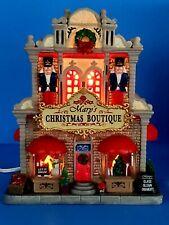 Lemax Mary's Christmas Boutique Village House Let It Snow Nutcrackers #85344