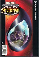 """ULTIMATE SPIDER-MAN #6 MARVEL 2001 PETER PARKER """"BIG TIME SUPER HERO"""" BENDIS VF+"""