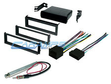 VW CAR STEREO CD PLAYER RADIO DASH INSTALLATION TRIM POCKET KIT WIRING HARNESS