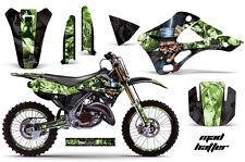 KAWASAKI KX 125/250 Graphic Kit AMR Racing # Plates Decal Sticker Part 99-02 MHG