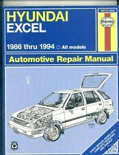 Hyundai Excel 1986-1994 Haynes,