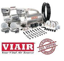 VIAIR 200PSI 3.53CFM 480C Dual Performance Value Pack 48012 Pewter