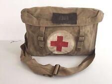 BRITISH WWII WW2 CANVAS MEDICS BAG DATED 1943