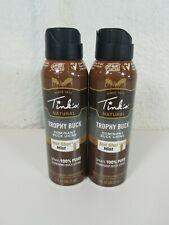 Tink's Natural Trophy Buck Dominant Buck Urine Hot Shot Gel Stream 5oz Lot of 2