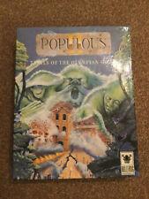 Populous II Trials Of The Olympian Gods Amiga Big Box