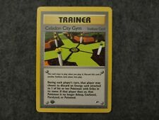 Celadon City Gym 1st Edition 107/132 Uncommon Gym Heroes in Near Mint Condition