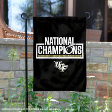 UCF Knights 2017 Undefeated National Champions Garden Flag and Yard Banner