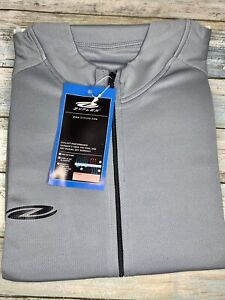 Unisex Cycling Jersey Shirt Loose Fit Short Sleeve 3 Pockets Size L