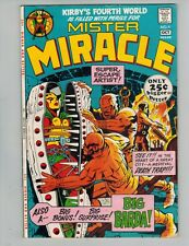 Mister Miracle 4  1st Big Barda!  Giant Jack Kirby  Fine Plus 1971!
