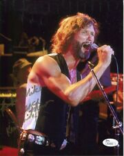 KRIS KRISTOFFERSON AUTOGRAPHED 8x10 PHOTO     IN CONCERT POSE    TO MIKE     JSA