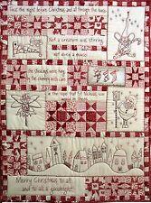 Twas the Night Before Christmas BOM Stitchery pattern by Hugs n Kisses