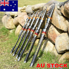 Travel Telescopic Fishing Rod Hard Carbon Fiber Fishing Rod ALL Size Portable