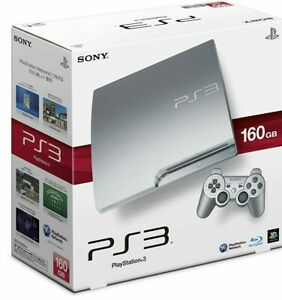 SONY PS3 PlayStation 3 160GB CECH-2500A SS Silver Game console