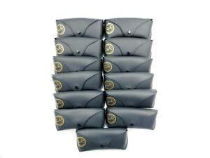 Bundle of 13 New Empty Black Ray Ban Sunglass Cases - BBM390
