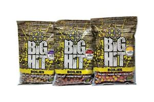Crafty Catcher Big Hit 15-20mm Boilies 1kg Full Range 3-4 Free Pop Ups Included