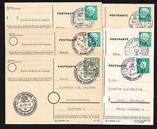 Stempel für Philatelie-Sammler aus der Bundesrepublik mit Einzelfrankatur