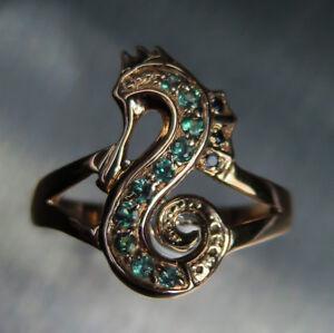 Natural Alexandrite Colour Change 925 Silver 9ct 14k 18k Gold Platinum ring