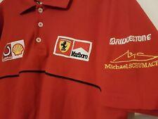 Ferrari Michael Schumacher Officially Licensed Polo Shirt Malboro Shell Vodafone