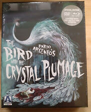 The Bird With The Crystal Plumage Blu-Ray/DVD NEW Arrow Video OOP Limited giallo