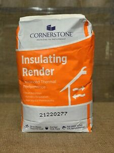 Womersleys Insulating Lime Render Plaster Pre Mixed Bag