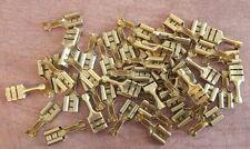 50x OTTONE SPADE connettori elettrici 16-18swg 15-30a Lucar FASTON OG VW PORSCHE