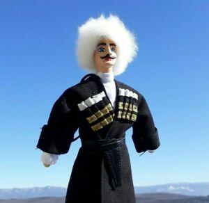 National Costume Doll | GEORGIAN Handmade Doll | Caucasian | Tbilisi Georgia