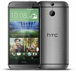 HTC One M8 - 16GB - Gunmetal Gray (Unlocked) Smartphone