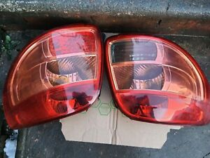 Suzuki SX4 rear lights