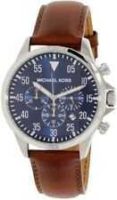 Michael Kors MK8362 Gage Chrono Brown Leather Men's Watch