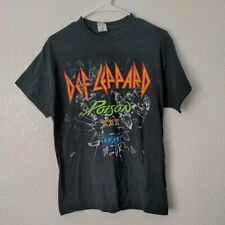 Def Leppard Poison XXX Tesla 2017 Tour T Shirt Medium