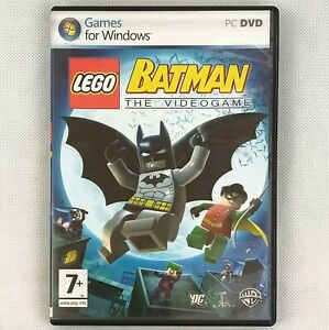 LEGO Batman - The Video Game  PC-DVD Manual Included & Clean CD