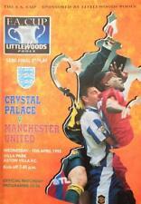 1995 FA CUP SEMI-FINAL REPLAY- MAN UTD v CRYSTAL PALACE