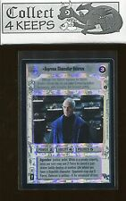 Star Wars CCG Reflections III 3: Supreme Chancellor Valorum Foil VRF (SWCCG) *A*