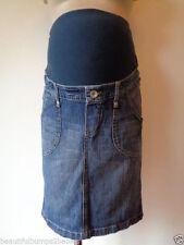 H&M Denim Maternity Skirts