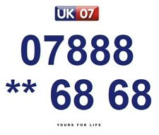 07888 ** 68 68 - Gold Easy Memorable Business Platinum VIP UK Mobile Numbers