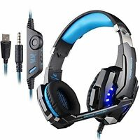 KOTION EACH G9000 3.5mm Gaming Headset Earphone Headband with Microphone For PC