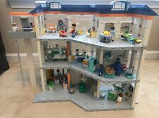HUGE Playmobil Hospital Play Set Lot