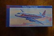 GLENCOE VICKERS VISCOUNT CAPITOL & BRITISH EUROPEAN AIRLINER MODEL KIT, NEW